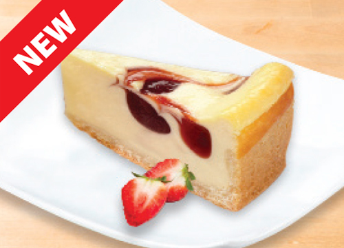 CREAM CHEESECAKE STRAWBERRY
